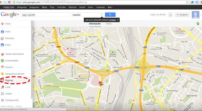 Google plus, google +, google places, google plus local
