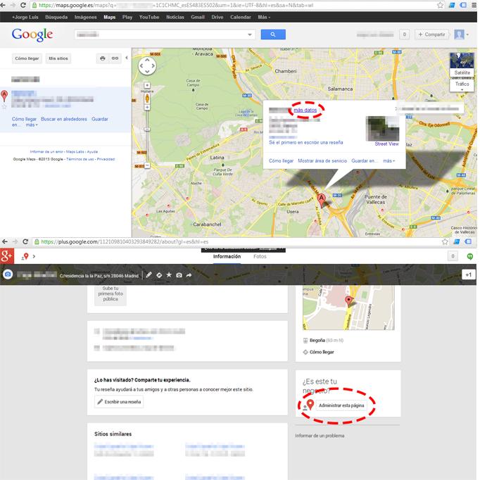 google place, google local, google plus, google +