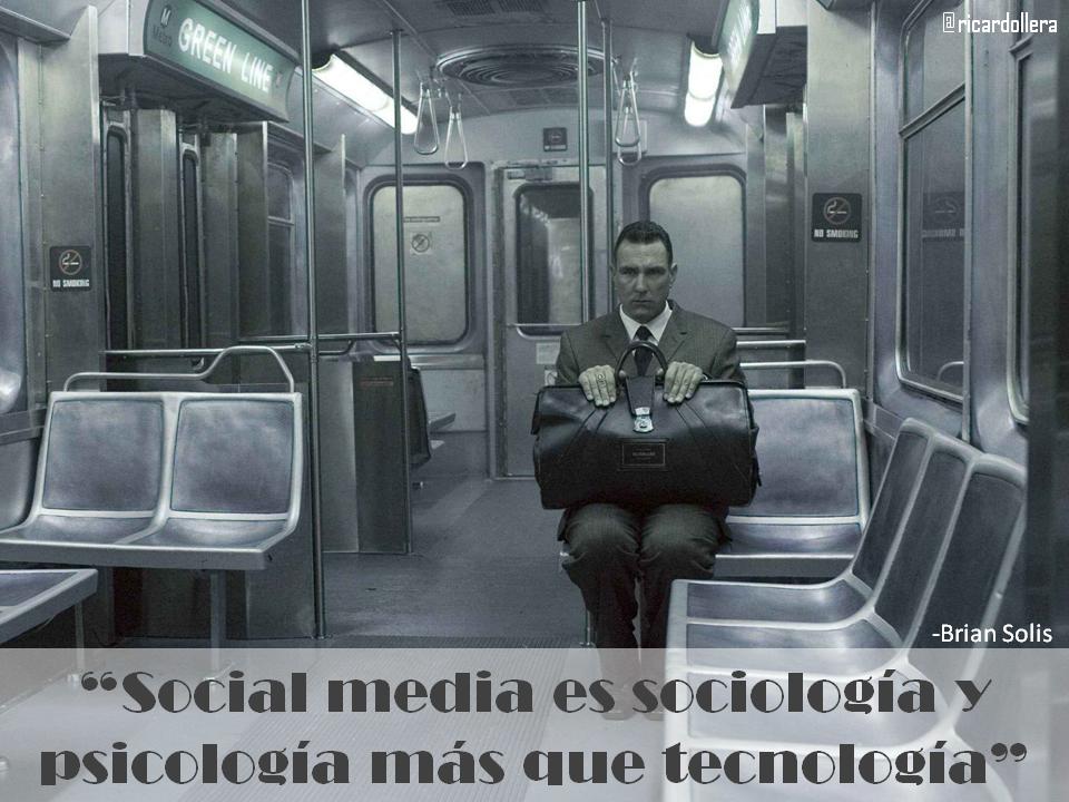 Social media es sociología y psicología más que tecnología -Brian Solis