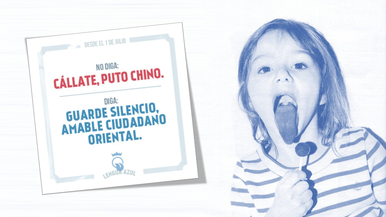 Lengua Azul Julio