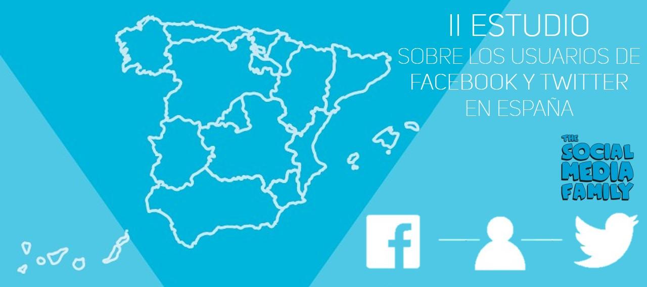 Estudio sobre los usuarios de Facebook y Twitter en España 2016